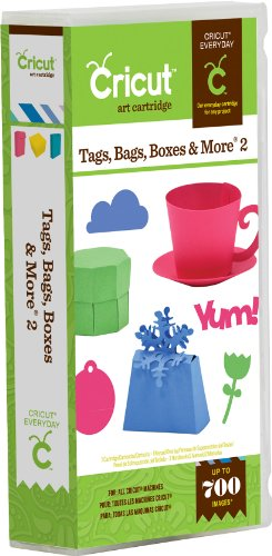 Cricut Cartridge - Tags Bags Boxes and More 2 by Cricut