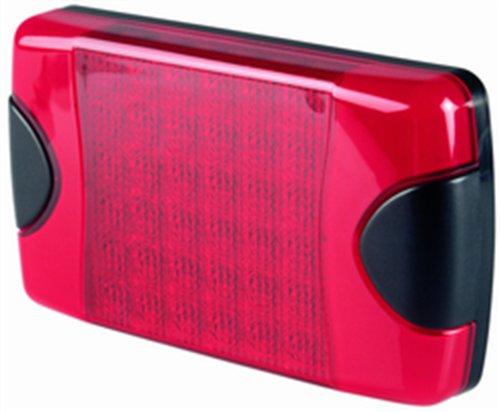 HELLA 959060301 9060 DuraLED Series 27-8 Watt Red Stop/Tail Lamp