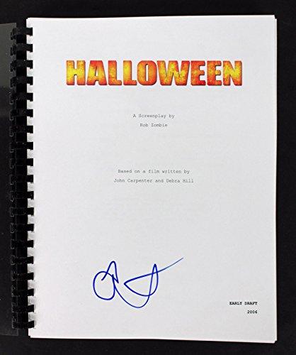 Scout Taylor-Compton Authentic Signed Halloween Movie Script BAS #D07620