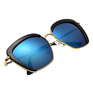 Summer Shades 2016 Clubmaster Sunglasses for Men and Women - Awesome Blue