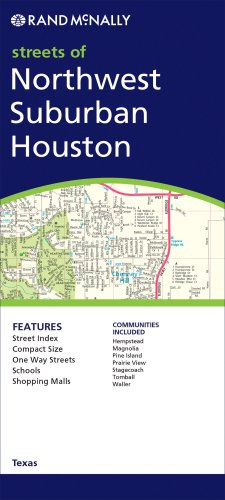 Download Rand McNally Northwest Suburban Houston Texas: City Map ePub fb2 book