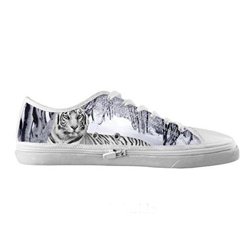 Cheese sobre tamaño Tigre Originals Zapatos Lienzo de alta moda de hombres Moda sobre tamaño de Qualit ¨ ¤ delle Zapatillas de tenis, US9/EUR42