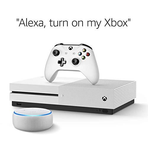 Xbox One S 1TB Console – Battlefield V Bundle + Echo Dot (3rd Gen) Sandstone