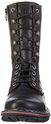 Art Assen High Lace - Botas mujer Negro (Memphis Black)