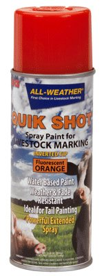 All-Weather 61114 Quik Shot Inverted Tip Spray