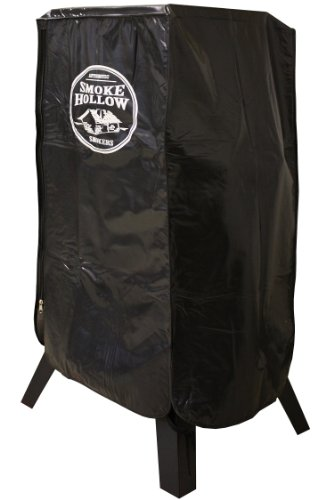 Smoke Hollow SC3430 Smoker Cover, Heavy Duty Weather-Resistant Polyester Material, Fits Most 36
