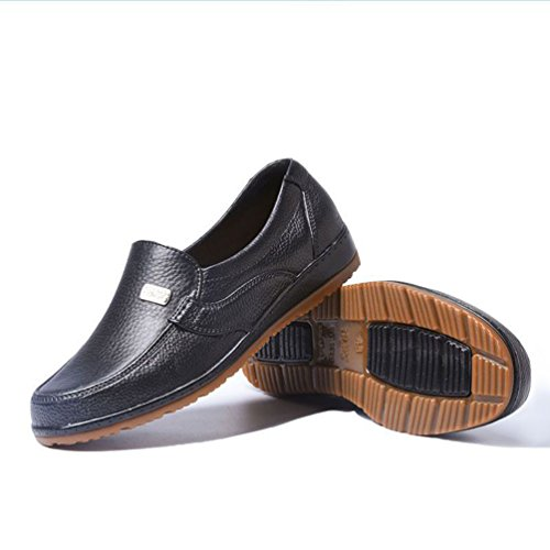 da Driving Casual Shoes Xinwcang Scarpe Uomo da Come Passeggio Loafers Immagine Piatti Classic Mocassini gwnqvxTw8