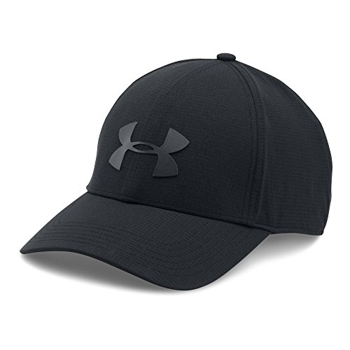 Under Armour Men's Driver 2.0 Golf Cap, Black (001)/Black, One Size -