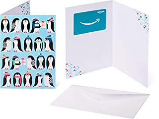 Amazon.com Gift Card in a Greeting Card - Penguin Colony Design (B07FL86TBR) | Amazon price tracker / tracking, Amazon price history charts, Amazon price watches, Amazon price drop alerts