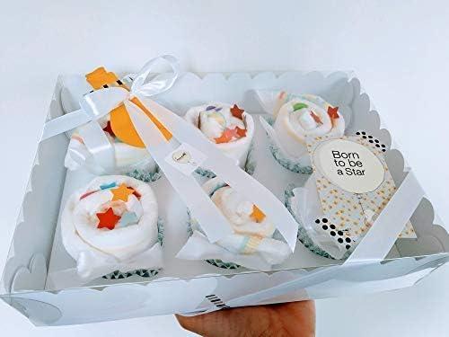 Regalo Original para Recién Nacidos | Caja de Cupcakes hechos con ...