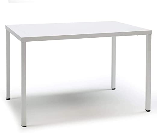 Scab Design Summer mesa rectangular de 120x80 cm blanca: Amazon.es ...
