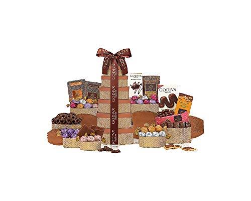 Ultimate Godiva Gift Tower by Wine Country Gift Baskets -