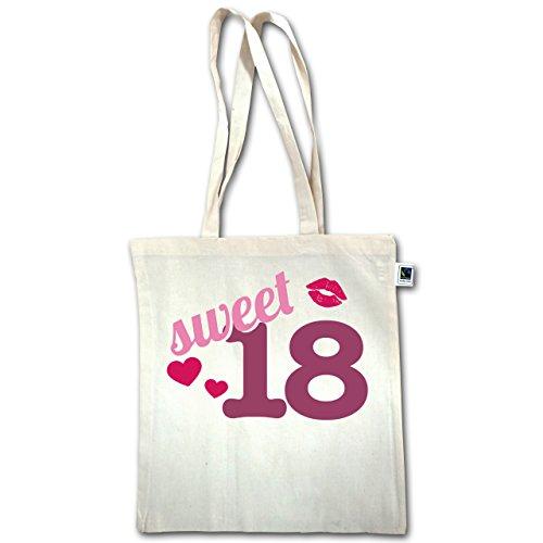 Henkel Natural 18 Sweet lange XT600 Unisize Geburtstag Jutebeutel xU8wv4H