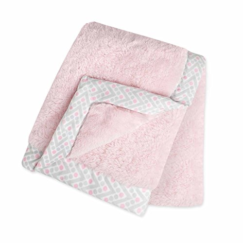 Just Born Plush Blanket, Pink - The Stores At Supermall