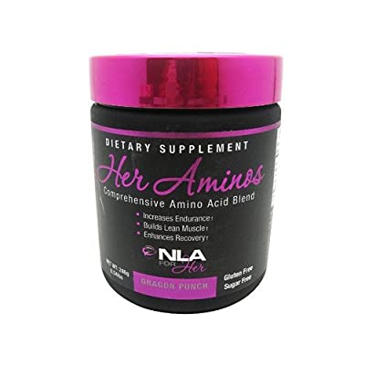 NLA for Her - Her Aminos - Comprehensive Amino Acid Blend - Pink Lemonade - 254 Grams from NLA for Her