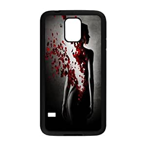 Beautiful flower-Rose,quotes of love series protective cover For Samsung Galaxy S5 ROSE-021-U51747