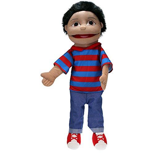(The Puppet Company Medium Sized Puppet Buddies Boy Hand Puppet - Olive Skin Tone)