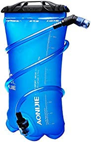 WATERFLY Hydration Bladder 2L 3L Water Bag Pack Portable Leakproof TPU Water Bag for Outdoor Cycling Hiking Ca