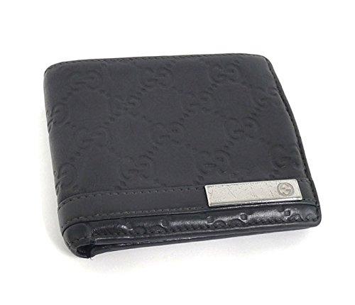 7a32e4081891 Amazon | GUCCI グッチ グッチシマ 二つ折り財布 レザー ロゴプレート 233102【中古】 | 財布