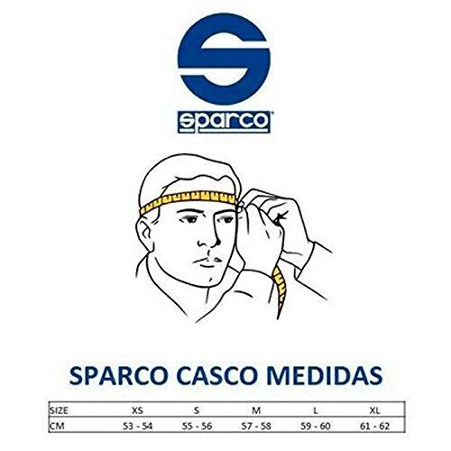 S Sparco 003319N1S Casco para Racing