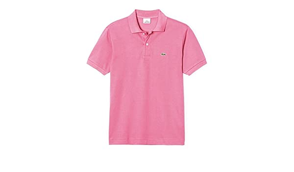 Polo Lacoste caiman 1212 rosa chicle: Amazon.es: Ropa y accesorios