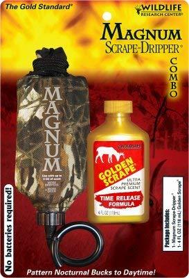 (Magnum Scent Dripper/ 4 FL OZ Golden Scrape (Time Release Formula))