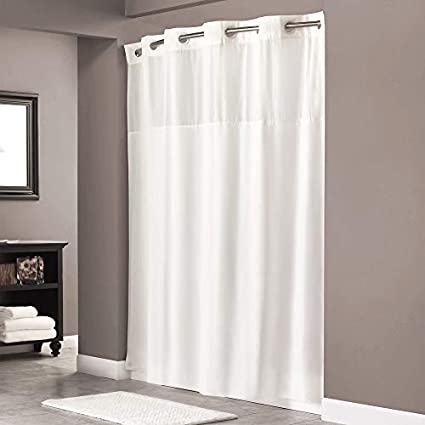 BEOKREU Curved Shower Curtain Rods Adjustable Rod Expandable 54 78inch