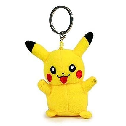 POKEMON LLAVERO rucksackanhänger Peluche de felpa/ Animal de peluche pokemonfigur Pikachu