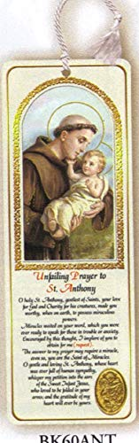 - St. Anthony Carded Tassel Bookmark and Medal