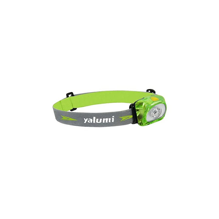 Yalumi Headlamp, Spark, with Advanced Aspherical LED Lens. 105 lumens design, Bright as 140 lumens output, energy saving, Batteries Included