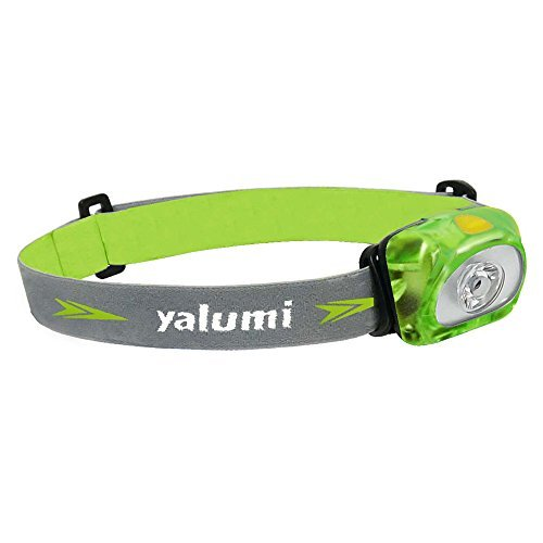 Headlamp, Yalumi Spark, with Advanced Aspherical LED Lens. 105 lumens design, Bright as 140 lumens output, energy saving, Batteries Included