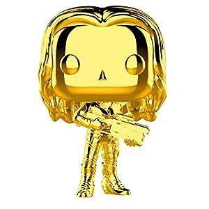 41zjtPSZXvL. SS300 Funko Pop Marvel: Marvel Studios 10 - Gamora (Gold Chrome) Collectible Figure, Multicolor