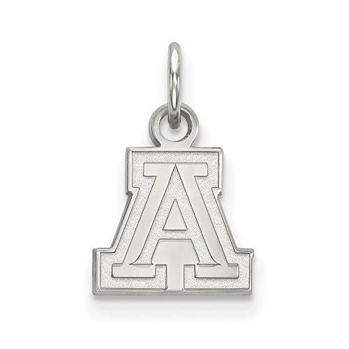 Sterling Silver LogoArt University of Arizona XS Pendant