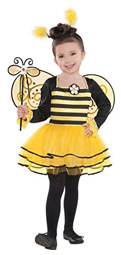 Bumblebee Fairy Wings Costume (Child Fairy Costume Uk)