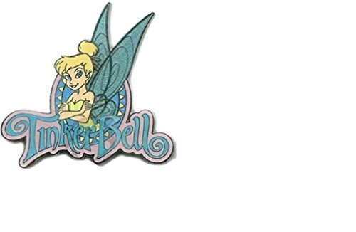 Price comparison product image Disney Tinker Bell Blue Glitter Wings Name Pin