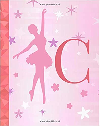 """Heritage Collection Notebooks - C: Ballet Notebook For Girls ~ College Ruled Composition Notebook 8""""x10"""" ~ 110 Page Dance Journal, Ballet Diary, Exercise Book, Dance Notebook For ..."""