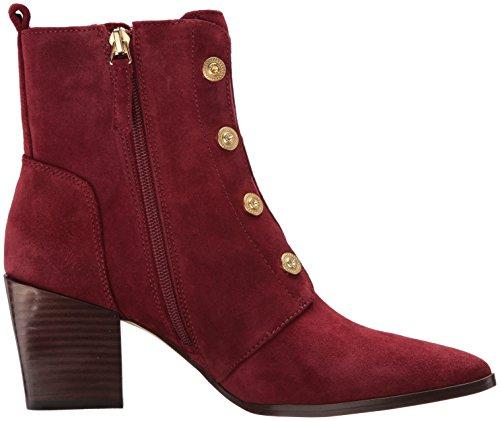 Suede Ankle Nine Ellsworth West Wine Boot Women's qqABYwg