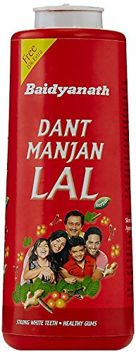 Baidyanath Dant Manjan Lal - 300 g with 10% Extra