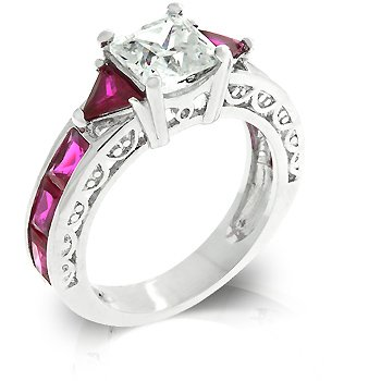 - J Goodin Ruby Regal Ring Size 8