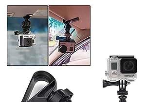 Universal para GoPro soporte de conducción Recorder DVR sonenn paneles Clip Connector coche GPS Cámara