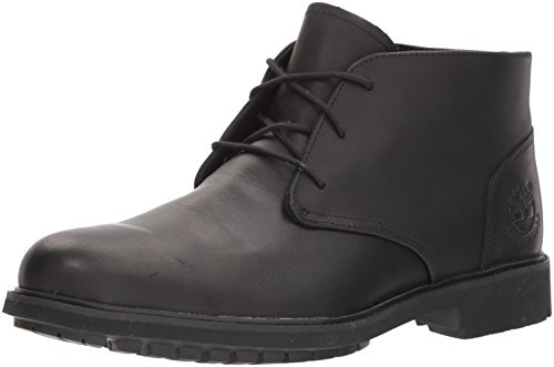 Timberland Men's Earthkeepers Stormbuck Chukka Waterproof Boot,Black,11.5 M (Black Smooth Chukka)