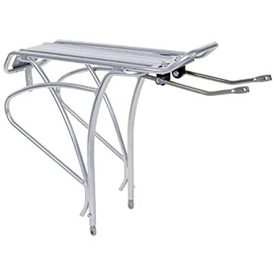 "SUNLITE Gold Tec Sport Rack, 26""/700c, Silver : Bike Racks : Sports & Outdoors"