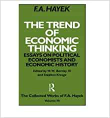 essays on political economists and economic history The book the trend of economic thinking: essays on political economists and economic history, f a hayek is published by university of chicago press.