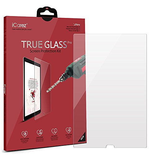 iCarez [Tempered Glass] Screen Protector for Huawei MediaPad M5/M5 Pro 10.8-inch Premium Easy Install [9H 0.3MM 2.5D] with Lifetime Replacement Warranty by iCarez (Image #1)