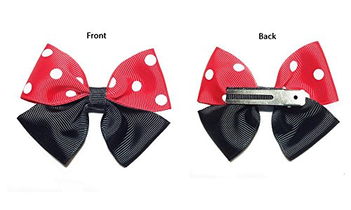 Minnie Mouse Inspired Hair Bow (1pc)