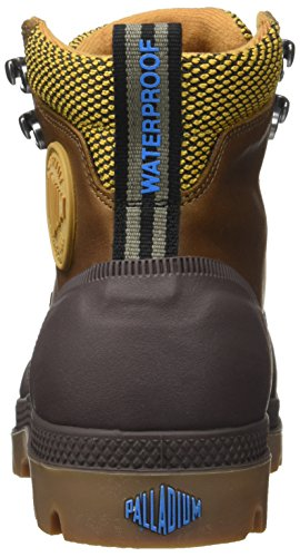 Palladium Sporcuf Wp2.0 U, Zapatillas Altas Unisex Adulto Amarillo (Amber Gold/chocolate)