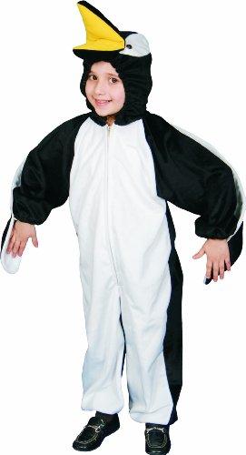 Child Plush Penguin Costumes (Penguin Plush Children's Costume Size: Toddler 4)