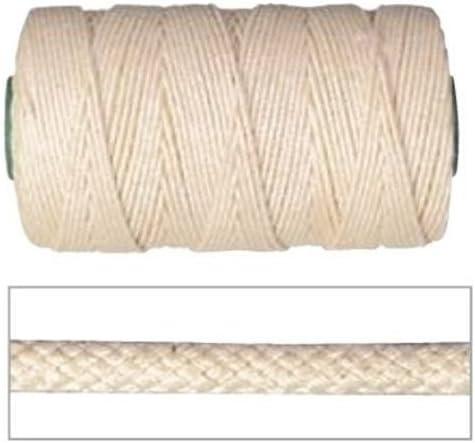7665C316 - Cordón Algodón Trenzado 5 Mm X 100: Amazon.es: Bricolaje y herramientas
