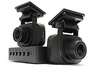 Raytis ENFORCER DX1 - Discrete Front and Rear Dual Channel FullHD 1080p Dashcam + 16GB microSD card