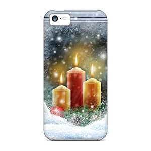 Hot PDo24246vAsp Christmas Lights Widescreen Cases Covers Compatible With Iphone 5c